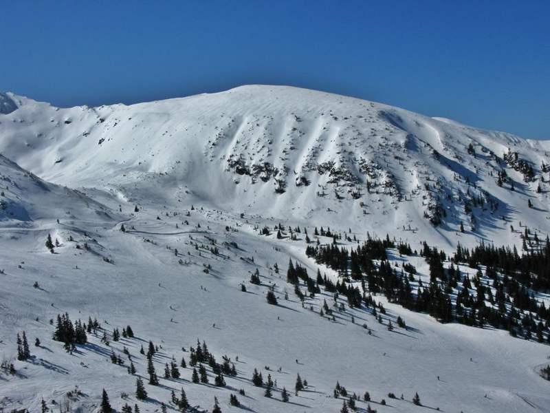 Kasprowy Wierch - ski slope on Goryczkowa