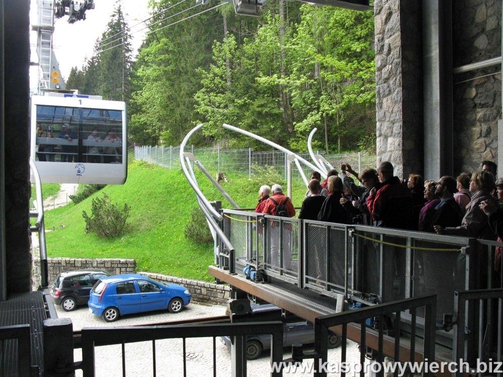 Kolejka na Kasprowy Wierch - peron w Kuźnicach