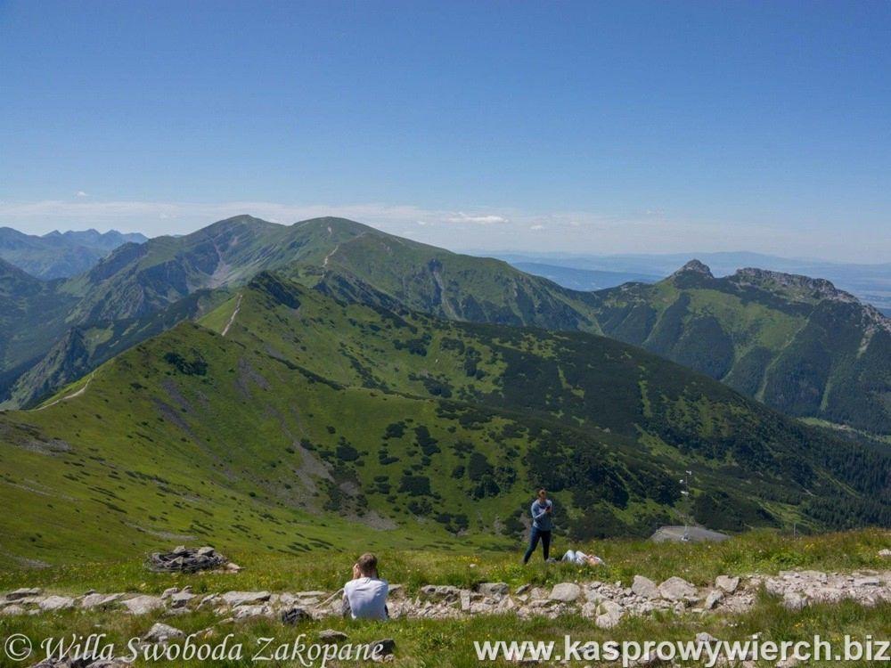 Kasprowy Wierch - widok na Tatry Zachodnie