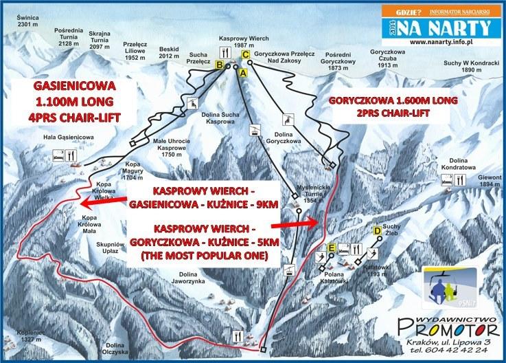 Mount Kasprowy Wierch Cable Car