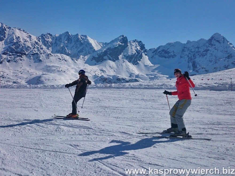 Kasprowy Wierch - na nartach w Kotle Gąsienicowym