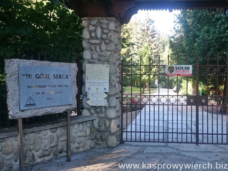 Księzówka - Dom Rekolekcyjny w którym w 1997 roku mieszkał Jan Paweł II