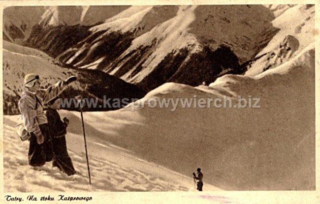 Pocztówka z roku 1937