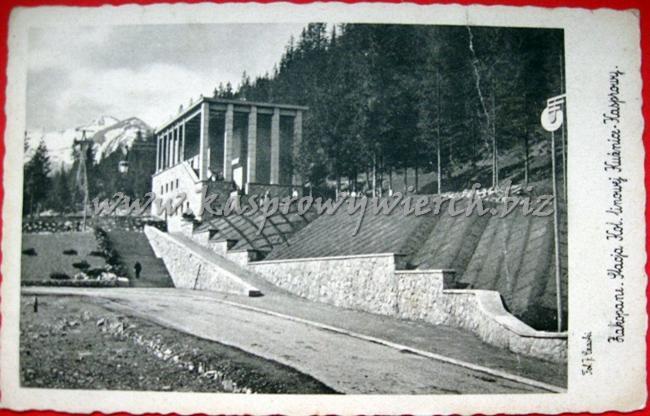 stacja kolejki w Kuźnicach ok. 1938r